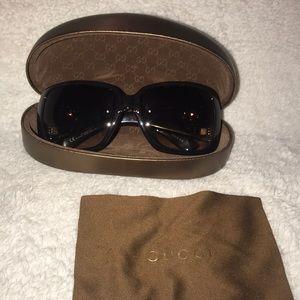 Gucci Large Hysteria Sunglasses